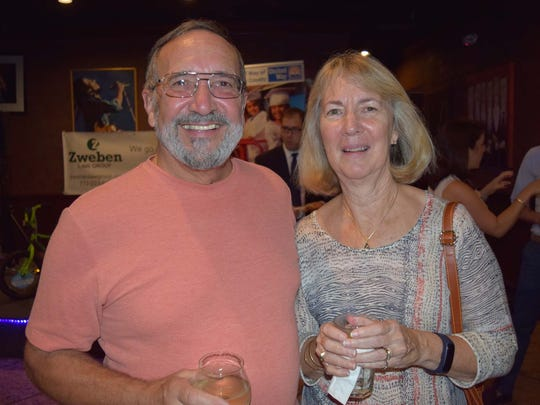Frank and Judy Tidikis attend the Zweben Law Group Bike Drive Kickoff Party at The Stillery on Nov. 16.