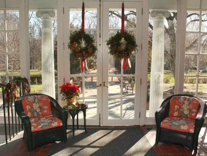 The solarium of Drumthwacket, the official residence