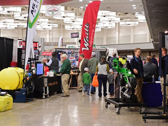 A steady crowd of over 30,000 walked through the two huge convention center rooms at the 2018 Fort Wayne Farm Show. Around 450 vendors showcased agricultural production equipment for crops and livestock, agriculture education, estate planning services, feed and seed companies, banking and insurance agencies, tools, building products, toys and other goods and services of interest to farm families.