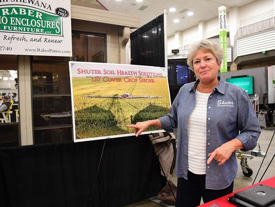 The Shuter Soil Health Solutions representative explained