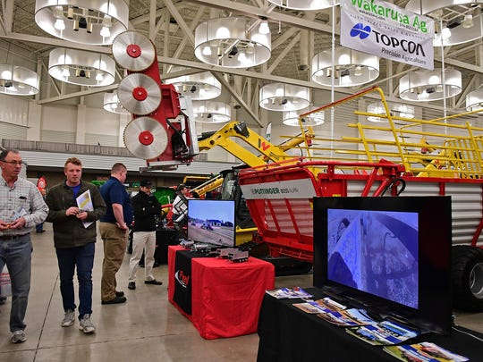 Big equipment for just about every farm job was displayed by vendors at the 2018 Fort Wayne Farm Show.