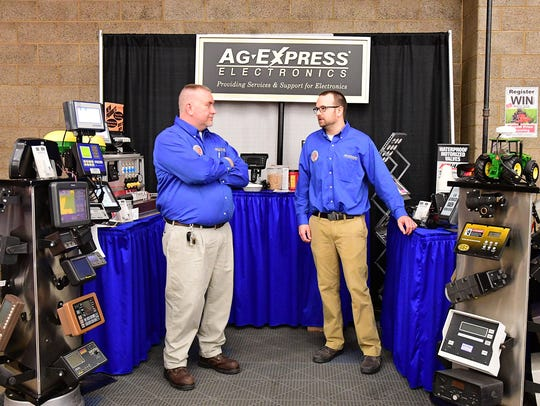 The Ag-Express Electronics reps showcased the newest