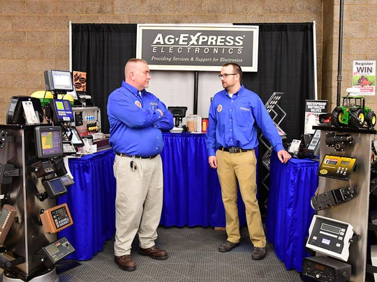 The Ag-Express Electronics reps showcased the newest innovations in electronic controls and monitoring equipment for use in agriculture in their booth at the Farm Show. The company, which is based in Markleville, IN, also offers electronic equipment repair services.