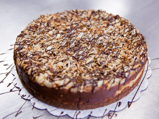 This Coconut-Almond Cheesecake was created by Margret