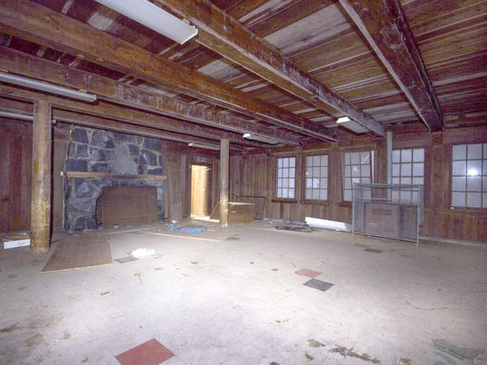 Salem couple Dwight and Susan Sheets have plans to restore the Santiam Pass Ski Lodge, starting with the main floor seen here in its current state.