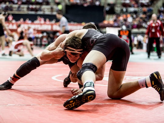 Garrett Barth finished eighth in Columbus at 170 pounds for Fremont Ross.