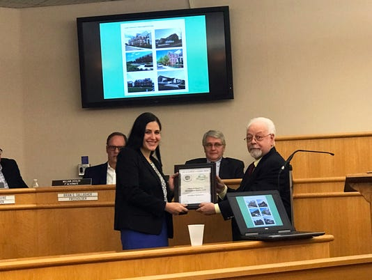 Montgomery receives Excellence in PlanningAward PHOTO CAPTION