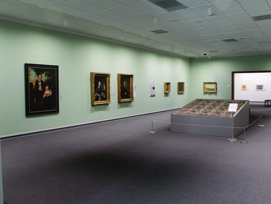 This gallery in the Springfield Art Museum is part