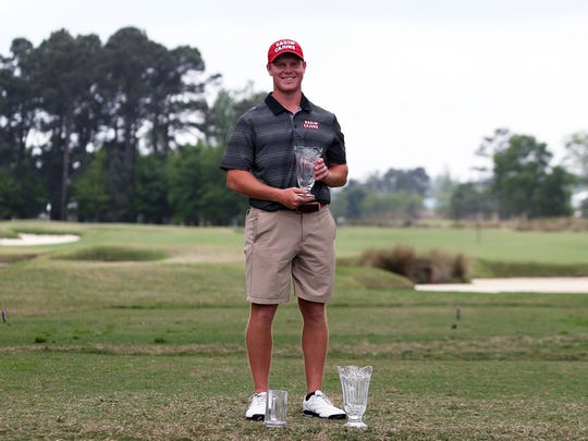 Jack Tolson's 15-under-par 201 score was the lowest recorded by a Cajun since at least the 1993-94 season, and UL golf coach Theo Sliman believed it was the lowest in school history over three rounds.
