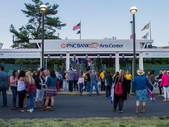 The exterior of the PNC Bank Arts Center in Holmdel is pictured in this 2015 file photo.