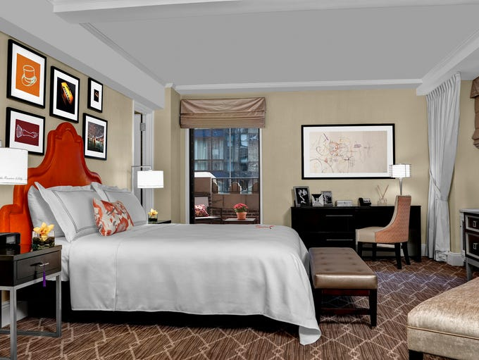 The Centerfield Suite at the Lexington Hotel New York
