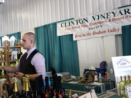 Clinton Vineyards sets up shop at the Hudson Valley