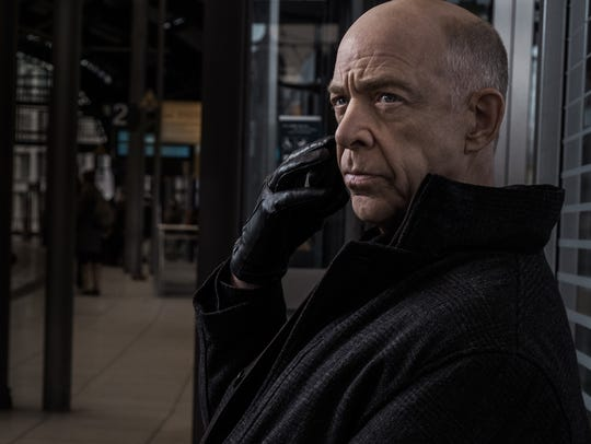 "J.K. Simmons as Howard Silk on ""Counterpart."""