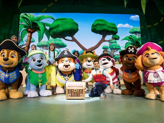 "The Nickelodeon show ""Paw Patrol Live! The Great Pirate Adventure"" comes to the American Bank Center from Aug. 25-26 in Corpus Christi."