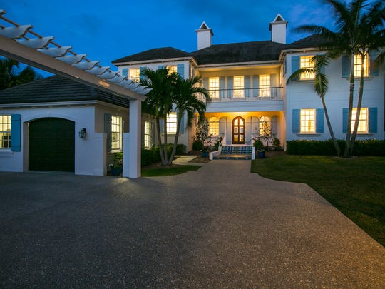 The Old Riomar Mystique is one of 15 oceanfront properties in the Old Riomar neighborhood. The estate at 1804 Ocean Drive is listed for $5.9 million and will be sold to the highest bidder without reserve after a three-day online auction beginning at 8 a.m. June 12. The home is 6,732-square foot oceanfront property with a private beach access.