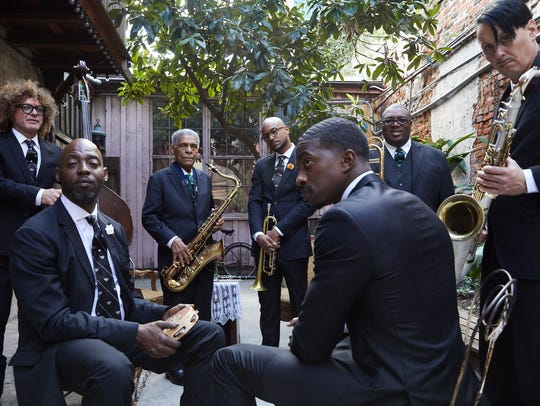 The Preservation Hall Jazz Band plays the first headlining
