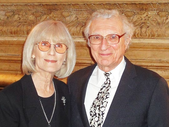 Margery and Sheldon Harnick