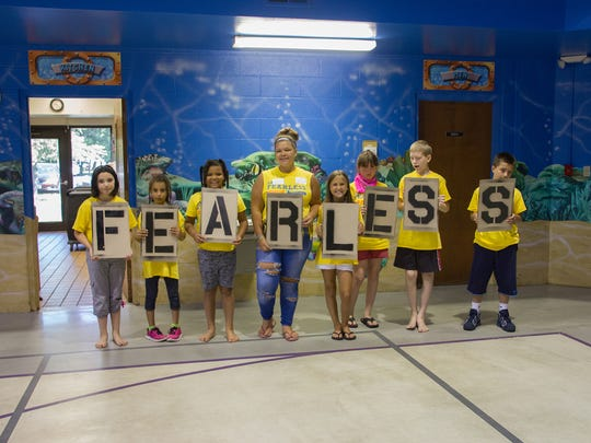 About 40 children attend Camp Fearless in Fremont.  Some children are first-time campers, while others have been attending for six years.