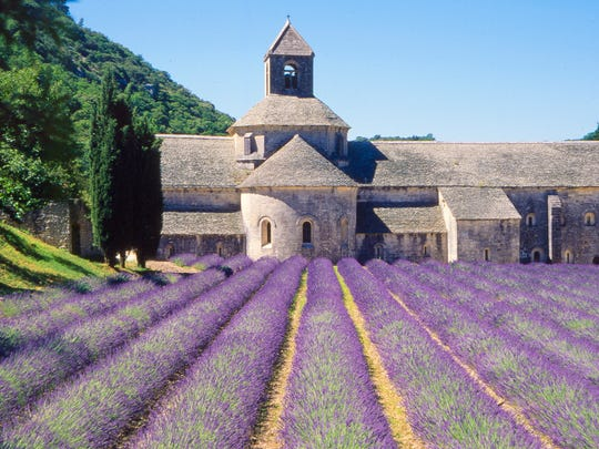 Monks at Sénanque Abbey in Provence divide their day