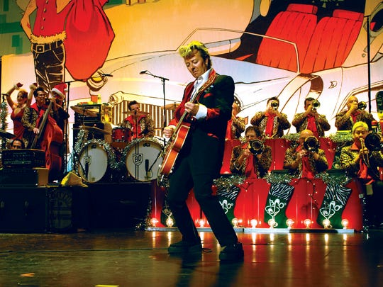 The Brian Setzer Orchestra will perform their swinging, big-band holiday songs on Monday, Dec. 15, 2014, at Celebrity Theatre in Phoenix.
