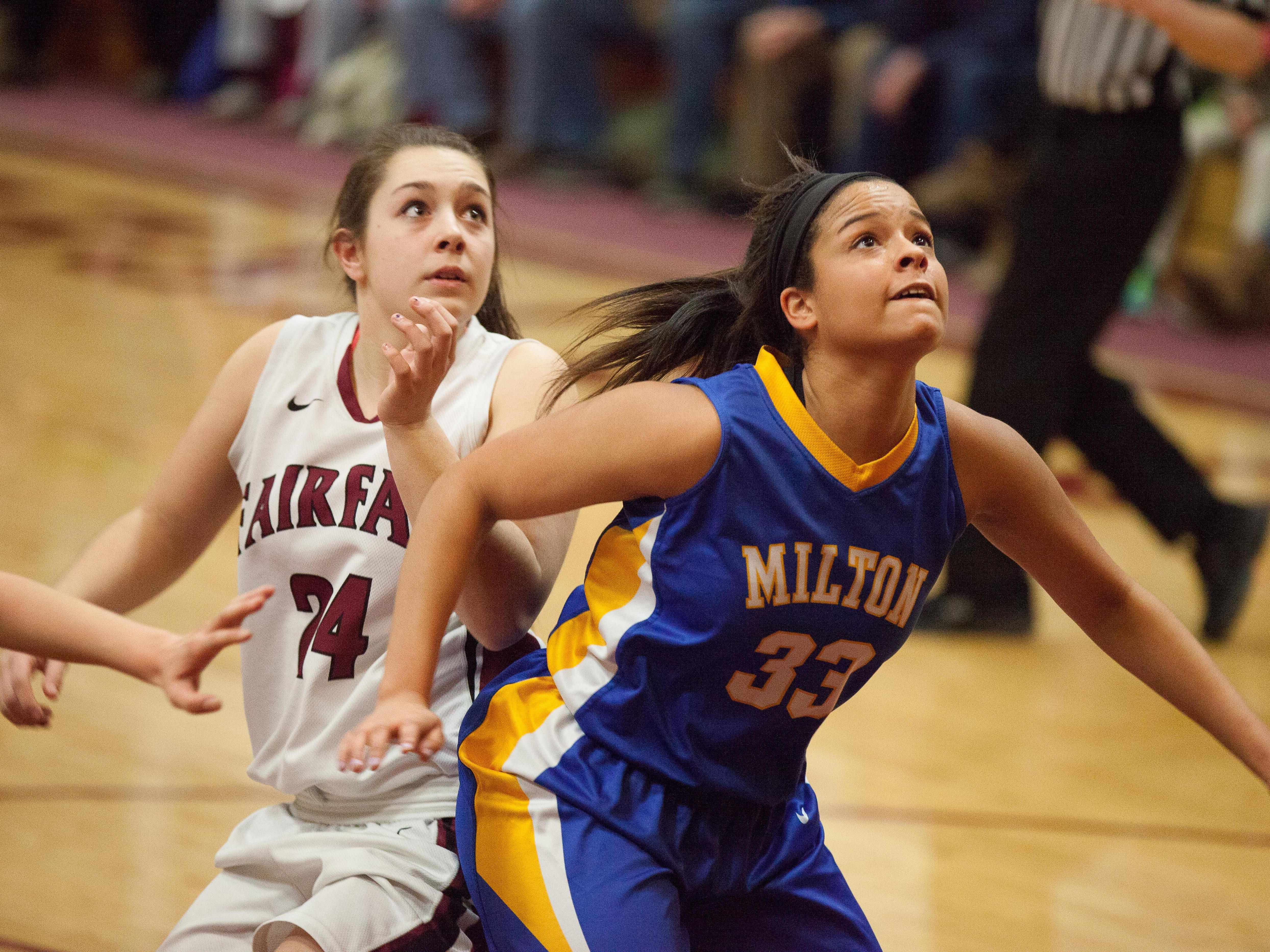 Selena Patterson, who scored 21 points in the season opener, should be one of Milton's top scorers again this winter.