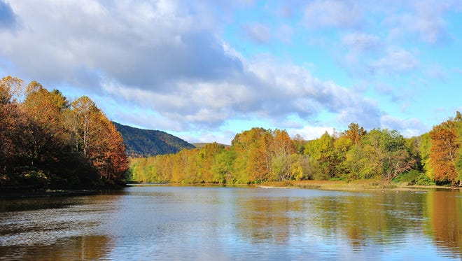 Photographer Arthur Thompson provided this vista of the Chemung River for the 2017 River Friends calendar.