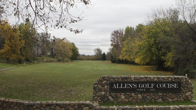 A view of the ninth hole at Allen's Golf Course in Redding. The city is no longer interested in buying it and turning it into a public park with ball fields and other amenities.