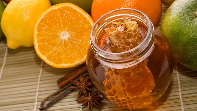 Honey, lemon, orange, cinnamon, nutmeg ... some of the many ingredients in home remedies