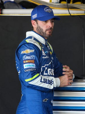 Jimmie Johnson had skin cancer removed from his shoulder Monday.
