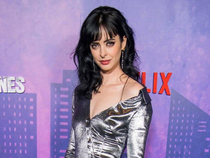 Krysten Ritter attends the Netflix original series