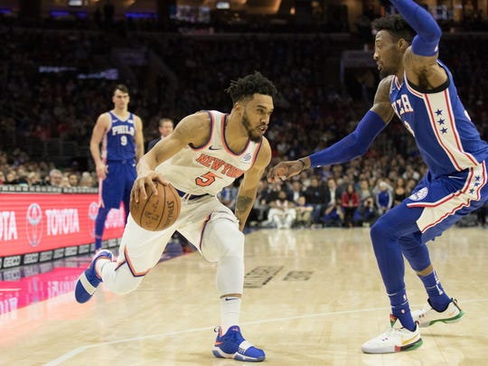 Knicks guard Courtney Lee is still starting, but has