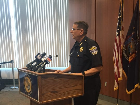 RPD Chief Michael Ciminelli discuss the shooting of