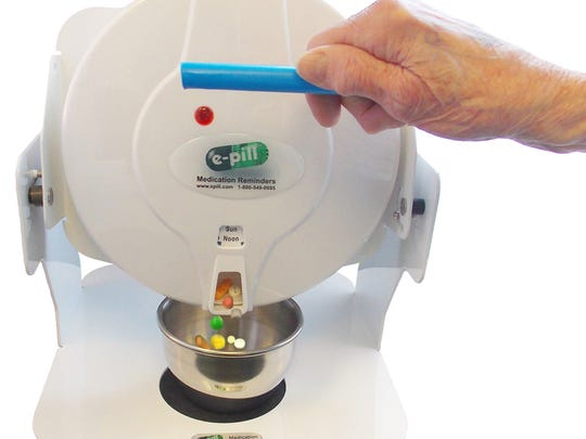 Medication alarms and dispensers can help s senior