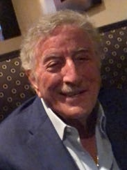 Tony Bennett dines at Cibo in Fort Myers on Sunday