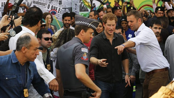 Prince Harry in Cracolandia