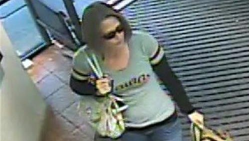Johnston Police are requesting assistance in identifying the woman featured in this photo.