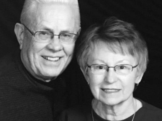 Anniversaries: Elwood Halverson & Pat Halverson
