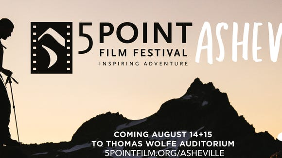 The 5Point Asheville Film Festival is Aug. 14 and 15.