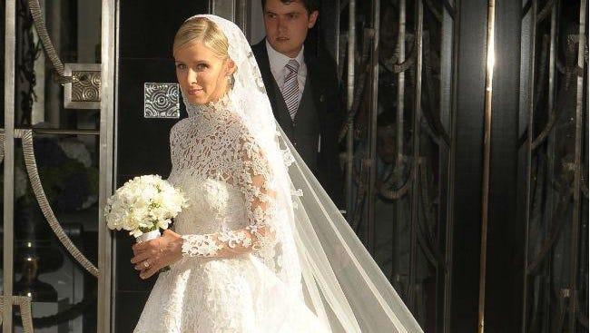 Nicky Hilton at her wedding