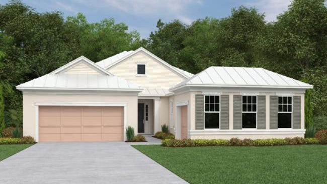 Ashton Woods has introduced the Genova and Corinthe (shown) models at Naples Reserve.