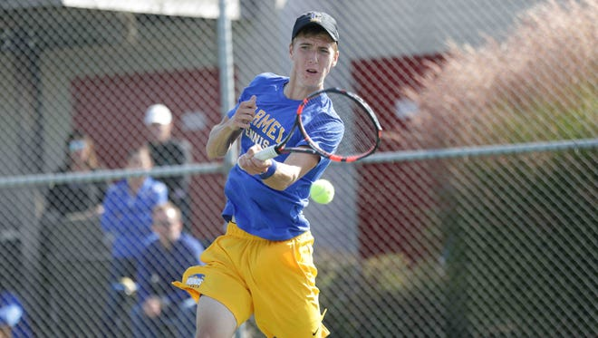 Carmel's Drew Michael will look to help the Greyhounds repeat as state champs.