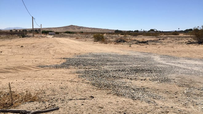 Three children were found wandering the Mojave Desert on July 13, 2016, in Twentynine Palms, Calif. Officials say their mother and her boyfriend forced them into the area without shoes or water as punishment.