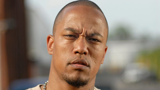 """A 2005 photo shows former rapper Deso Dogg, real name Denis Cuspert, in Berlin, Germany. He has since been put on the U.S. terror list.  According to the US-Foreign Ministry in Washington, Cuspert is an active member of the jihadist rebel group ISIS (Islamic State of Iraq and the Levant) and rated a """"global terrorist.""""."""