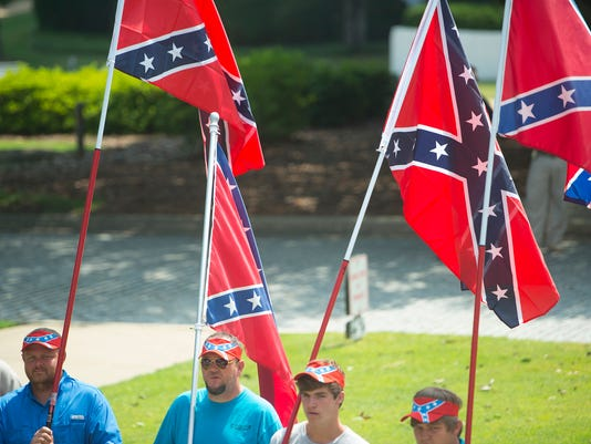 Confederate Flag Rally