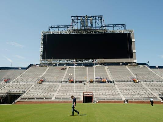 Auburn Scoreboard