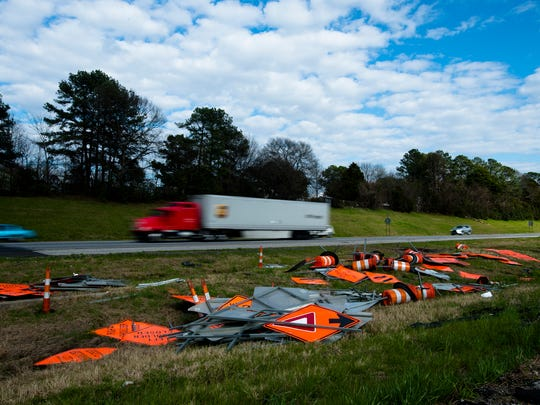 Temporary lane closures in construction zones will paused on Alabama interstates  over the upcoming Independence Day holiday period.