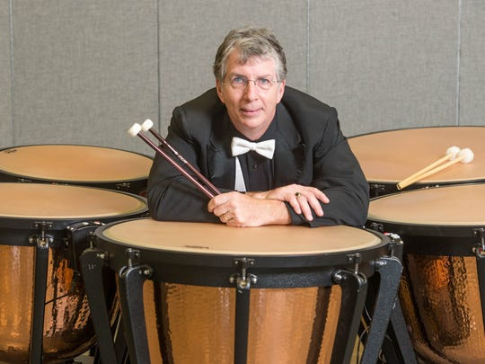 Mississippi Symphony Orchestra principal timpanist Bud Berthold is featured in Saturday's Bravo concert.