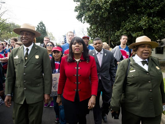 Selma to Montgomery NPS Commemorative March