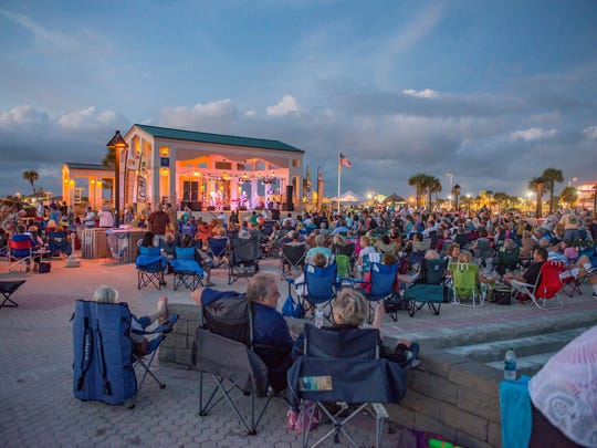 Bands on the Beach draws thousands to the Gulfside Pavilion on Pensacola Beach each week for live music under the setting sun. The 2017 series starts Tuesday.