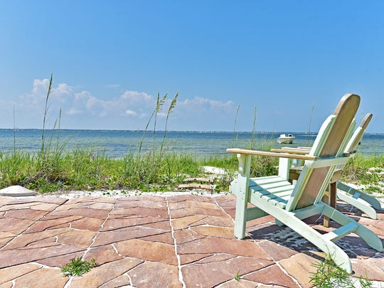 19 Seashore Drive, the sound side location offers relaxing views.